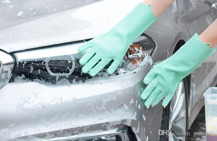 Silicone-gloves-carwash